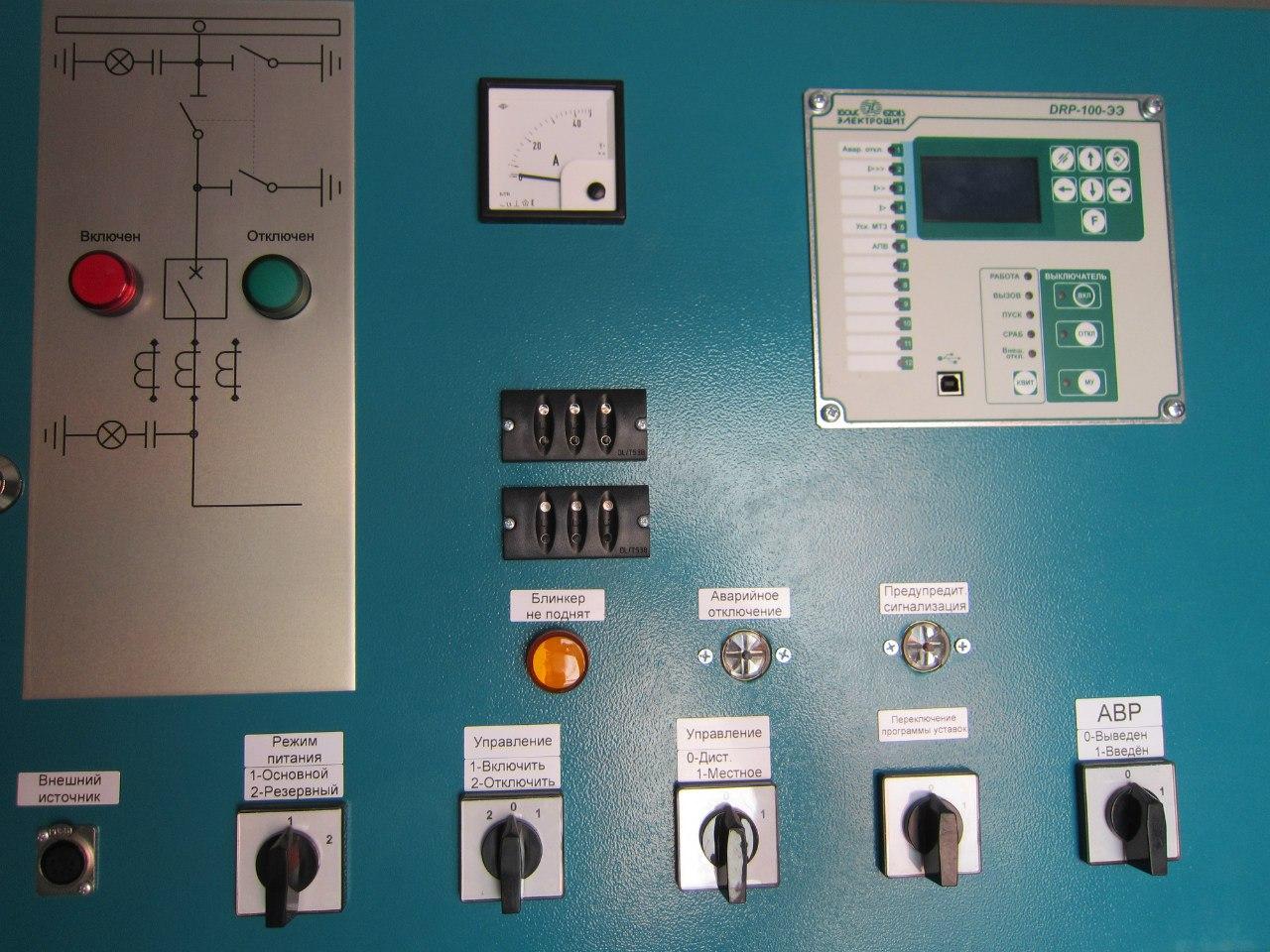 Бмрз-100 схема релейная защита